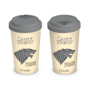 Game of Thrones House Stark Travel Mug