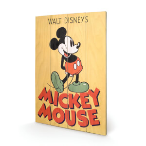 Disney Mickey Mouse Mickey 40 x 39cm Wood Print