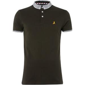 Brave Soul Men's Glover Polo Shirt - Khaki