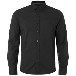 Brave Soul Men's Tudor Shirt - Black