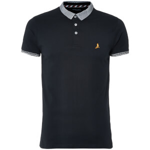 Brave Soul Men's Glover Polo Shirt - Navy