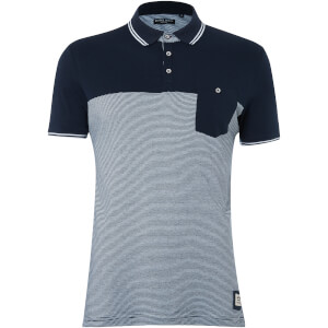 Brave Soul Men's Othello Polo Shirt - China Blue