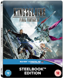 Kingsglaive: Final Fantasy XV - Zavvi UK Exklusives Limited Edition Steelbook (Inklusive DVD Version) (Nur 500 Auflagen)
