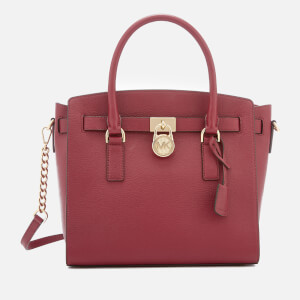 MICHAEL MICHAEL KORS Women's Hamilton Large East West Satchel - Mulberry