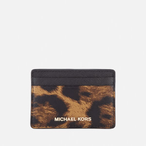 MICHAEL MICHAEL KORS Women's Card Holder - Butterscotch