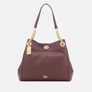 Coach Women's Turnlock Edie Tote Bag - Oxblood