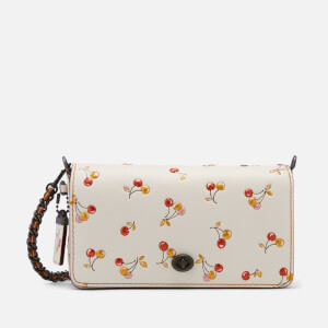 Coach 1941 Women's Cherry Print Dinky Cross Body Bag - Chalk
