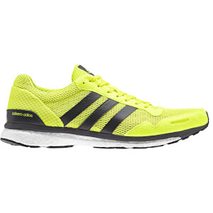 adidas Men's adizero Adios Running Shoes - Yellow