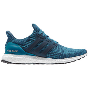 adidas Men's Ultra Boost Running Shoes - Petrol Night/Mystery Petrol