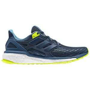 adidas Men's Energy Boost Running Shoes - Black/Blue