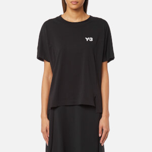 Y-3 Women's Short Sleeve Graphic T-Shirt - Black