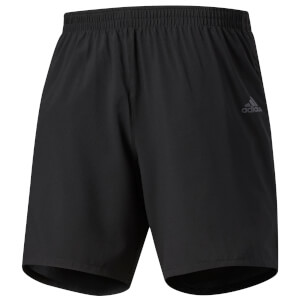 adidas Men's Response Running Shorts - Black