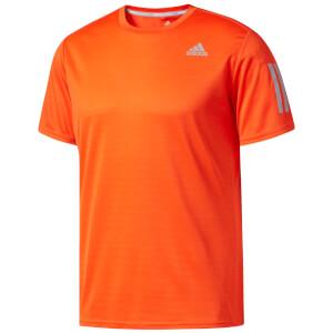 adidas Men's Response Running T-Shirt - Orange