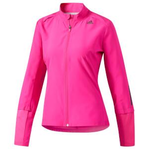 adidas Women's Response Running Jacket - Pink