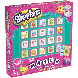 Top Trumps Match Board Game - Shopkins Edition
