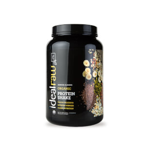 Organic Plant Protein - Banana Almond - 30 Servings