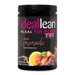 IdealLean BCAAs - Peach Lemonade - 30 Servings