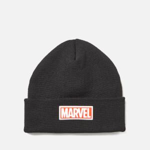 Marvel Logo Beanie Hat - Black