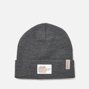 Pusheen Beanie Hat - Charcoal