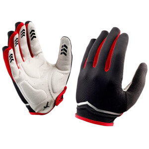 Sealsinz Madeleine Classic Gloves - Black/Red