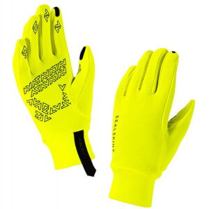 Sealskinz Stretch Fleece Nano Gloves - Yellow