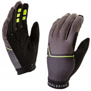 Sealskinz Women's Galibier Gloves - Yellow/Black/Grey