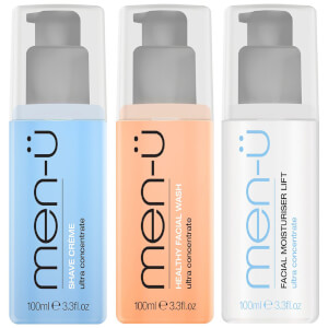 men-ü Shave Facial Trio (Worth £36.35)