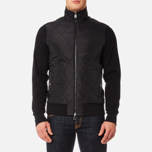 Michael Kors Men's Thermal Quilted Full Zip Jacket - Black
