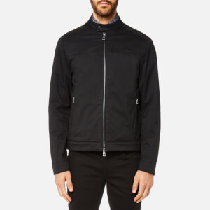Michael Kors Men's Nylon Motto Jacket - Black