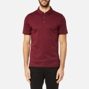 Michael Kors Men's Liquid Jersey Short Sleeve Polo Shirt - Chianti