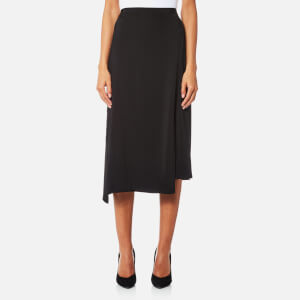 Helmut Lang Women's Staggered Seam Skirt - Black