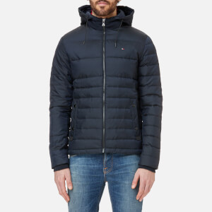 Tommy Hilfiger Men's Chad Down Bomber Jacket - Sky Captain