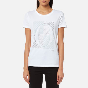 BOSS Orange Women's Tushirti T-Shirt - White