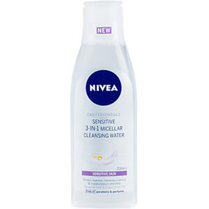Nivea Daily Essentials Sensitive 3-in-1 Micellar Cleansing Water