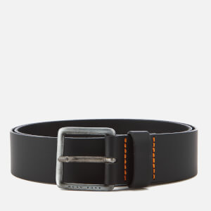 BOSS Orange Men's Jeeko Leather Belt - Black