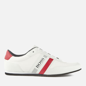 BOSS Green Men's Lighter Low Profile Trainers - White
