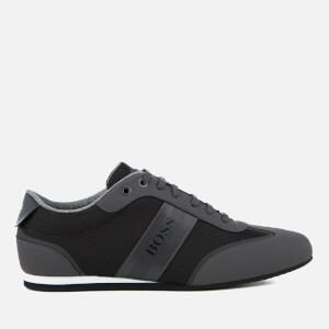 BOSS Green Men's Lighter Low Profile Trainers - Dark Grey