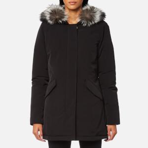 Woolrich Women's Luxury Arctic Fox Fur Parka - Black