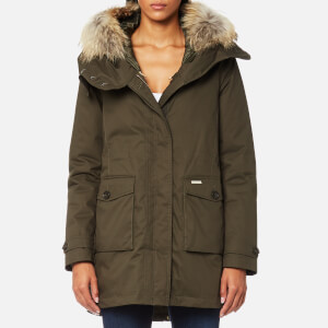 Woolrich Women's Scarlett Eskimo Coat - Military Olive