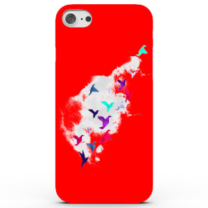 Coque iPhone & Android Oiseaux Origami - 3 Couleurs