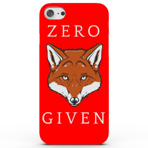 Coque iPhone & Android Zero Fox Given - 4 Couleurs