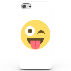 Emoji Wink Tongue Phone Case for iPhone & Android - 4 Colours