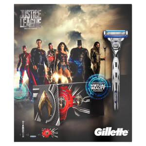 Gillette MACH3 Turbo Justic League Gift Set with VR Headset