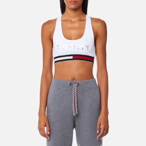Tommy Hilfiger Women's Active Wear Crop Sports Top - Classic White