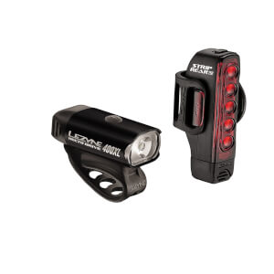 Lezyne Hecto 400/Strip 150 Light Set