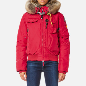 Parajumpers Women's Gobi Masterpiece Coat - Dark Red