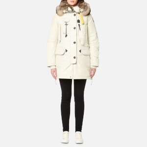 Parajumpers Women's Kodiak Masterpiece Coat - Chalk