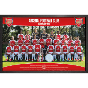 Arsenal Team Photo 15/16 - 61 x 91.5cm Framed Maxi Poster