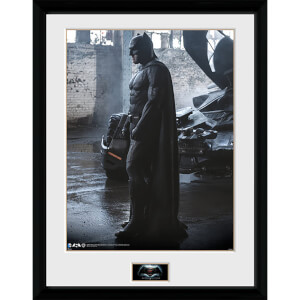 Batman Vs. Superman Batman - 16 x 12 Inches Framed Photograph