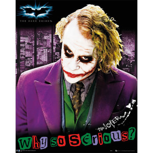 Batman: The Dark Knight The Joker - 40 x 50cm Mini Poster